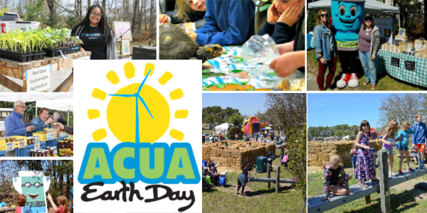 ACUA Earth Day logo